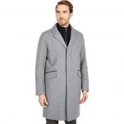 39 Wool Twill Long Classic Topper Coat