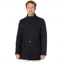 Wool Twill Jacket with Attached Bib
