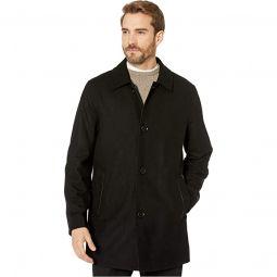 Reversible Wool Jacket and Water Repellent Raincoat