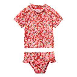Short Sleeve Rashguard Swim Set (Toddler/Little Kids/Big Kids)