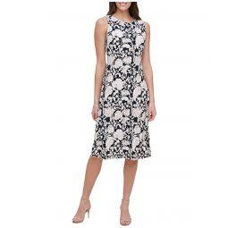 Tommy Hilfiger Petite Sorrento Jersey A-Line Midi Dress