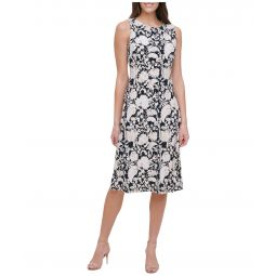 Petite Sorrento Jersey A-Line Midi Dress