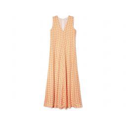 Soft Swing Dress Orange