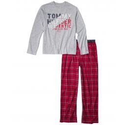 Plaid Sleepwear Set (Big Kids)