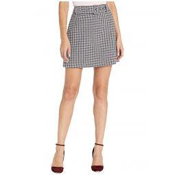 Kate Spade New York Pop Houndstooth Miniskirt