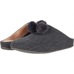 Chrissie Pom-Pom Slippers