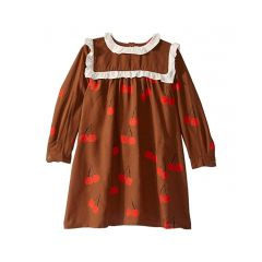 Cherry Woven Frill Dress (Infant/Toddler/Little Kids/Big Kids)