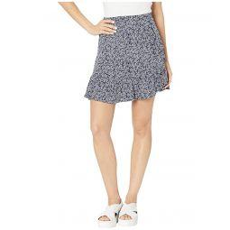 MICHAEL Michael Kors Painterly Reef Ruffle Skirt