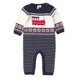 Train Sweater One-Piece (Infant)