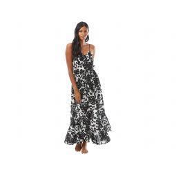 Kate Spade New York Monstera Cover-Up Maxi Dress