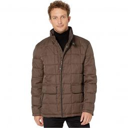 City Puffers 26.5 Insulated Quilted Jacket with Flap Pockets