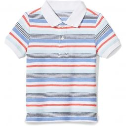 Striped Polo (Toddler/Little Kids/Big Kids)