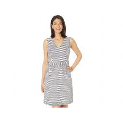 Tommy Hilfiger Twisted Rope Printed Scuba Dress