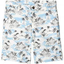 Palm Print Shorts (Toddler/Little Kids/Big Kids)