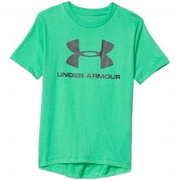 Sportstyle Logo Short Sleeve (Big Kids)