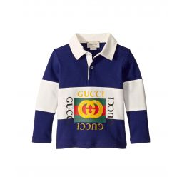Gucci Kids Vintage Long Sleeve Polo (Infant)