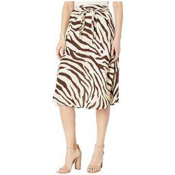 LAUREN Ralph Lauren Linen A-Line Skirt