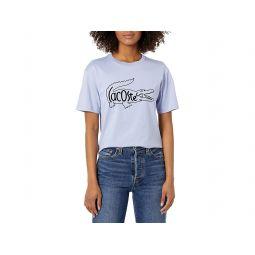 Short Sleeve Big Croc Animation Graphic T-shirt