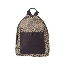 Tommy Hilfiger Linda II-Medium Backpack-Geometric Jacquard