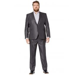 Kenneth Cole Reaction Big & Tall Techni-Cole Open Bottom Suits