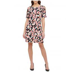 Tommy Hilfiger Summer Dahlia Jersey A-Line Dress