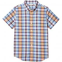 Madras Button-Up Shirt (Toddler/Little Kids/Big Kids)