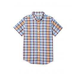 Janie and Jack Madras Button-Up Shirt (Toddleru002FLittle Kidsu002FBig Kids)