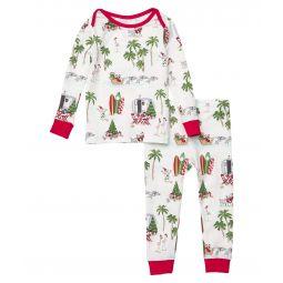 Booboo Long Sleeve Snug Fit Pajama Set (Infant)