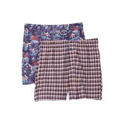 2-Pack Knit Boxer Set