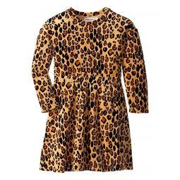 Leopard Velour Dress (Infant/Toddler/Little Kids/Big Kids)