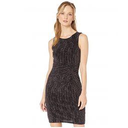 Tommy Hilfiger Metallic Knit Sheath Dress
