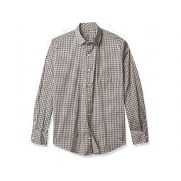 Buttondown Long Sleeve Performance Stretch Gingham Shirt