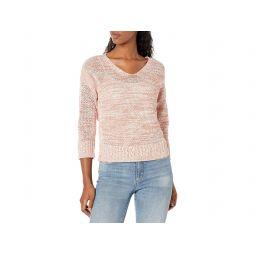 Novelty Stitch V-neck Sweater