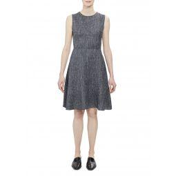 Dart Sleeveless A-Line Dress