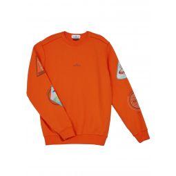 Boys Logo & Space Printed Sweatshirt, Size 2-6