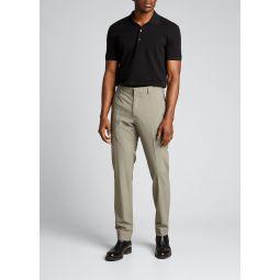 Mens Payton Tailored Wool Suit Pants
