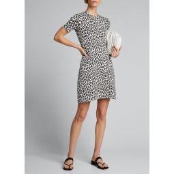 Leopard-Print Tee Dress