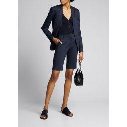 Treeca Straight-Leg Shorts