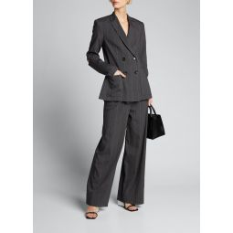Stella Isselin Stripe Pleated Pants