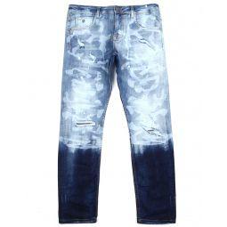 Camo Effect Stretch Jean