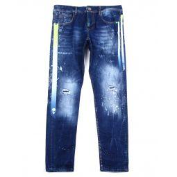 Gradation Tape Stretch Jean