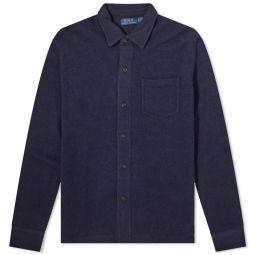 Polo Ralph Lauren Knit Overshirt Hunter Navy