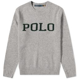 Polo Ralph Lauren Polo Knit Crew Grey Donegal