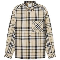 Burberry Causey Multi Check Shirt Soft Fawn Check