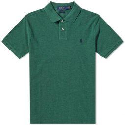 Polo Ralph Lauren Slim Fit Polo Verano Green Heather