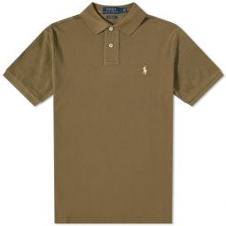 Polo Ralph Lauren Slim Fit Polo Basic Olive