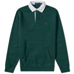 Polo Ralph Lauren Fleece Pocket Rugby Shirt College Green