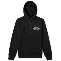 Burberry Allen Coordinates Logo Hoody Black
