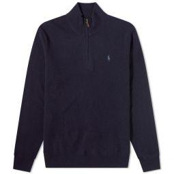 Polo Ralph Lauren Quarter Zip Knit Hunter Navy