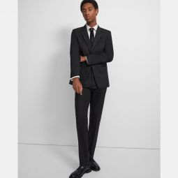 Mayer Tuxedo Pant in Stretch Wool